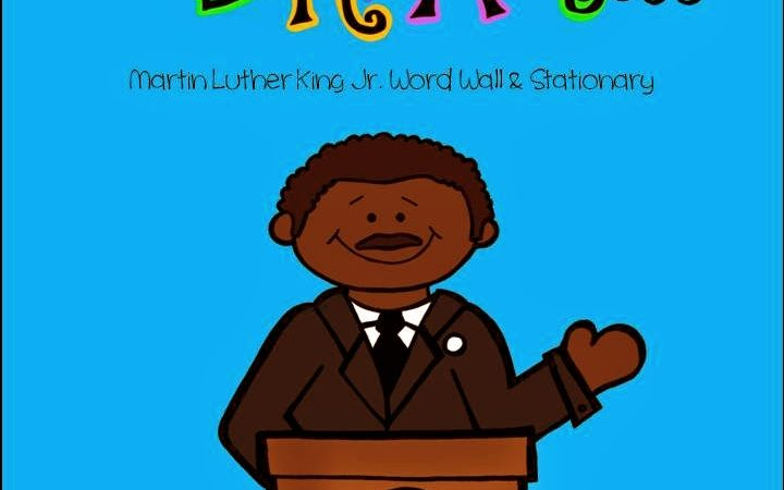 Martin Luther King Word Wall & Writing Activity